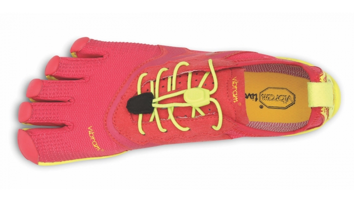 WOMENS BIKILA EVO RED/YELLOW
