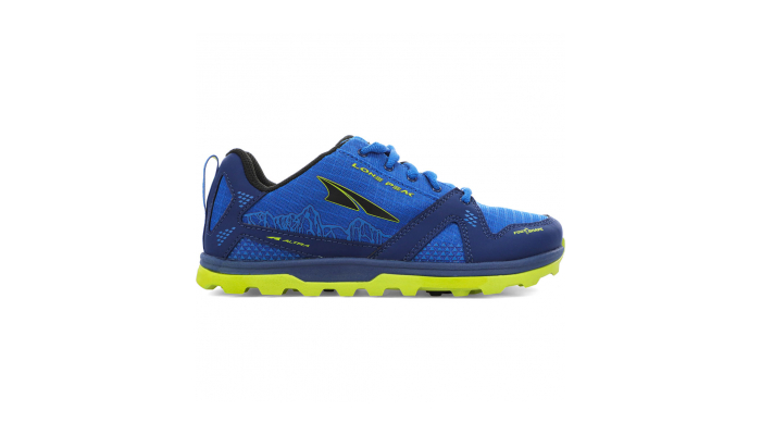 ALTRA Youth Lone Peak - Blue / Lime
